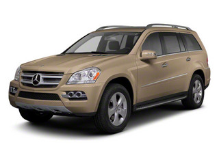 Pearl Beige Metallic 2012 Mercedes-Benz GL-Class Pictures GL-Class Utility 4D GL550 4WD photos front view
