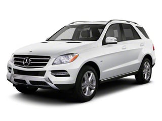 Arctic White 2012 Mercedes-Benz M-Class Pictures M-Class Utility 4D ML63 AMG AWD photos front view
