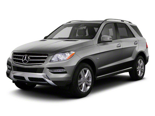 Steel Grey Metallic 2012 Mercedes-Benz M-Class Pictures M-Class Utility 4D ML63 AMG AWD photos front view
