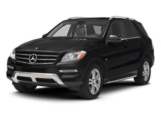 Black 2012 Mercedes-Benz M-Class Pictures M-Class Utility 4D ML350 BlueTEC AWD photos front view