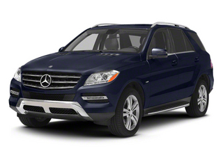 Capri Blue Metallic 2012 Mercedes-Benz M-Class Pictures M-Class Utility 4D ML350 BlueTEC AWD photos front view