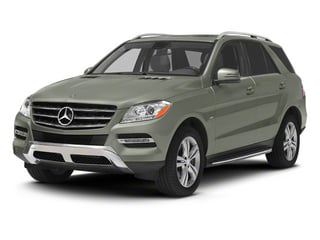 Palladium Silver Metallic 2012 Mercedes-Benz M-Class Pictures M-Class Utility 4D ML350 BlueTEC AWD photos front view