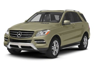 Pearl Beige Metallic 2012 Mercedes-Benz M-Class Pictures M-Class Utility 4D ML350 BlueTEC AWD photos front view