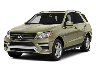 Pearl Beige Metallic 2012 Mercedes-Benz M-Class Pictures M-Class Utility 4D ML550 AWD photos front view
