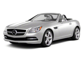 Arctic White 2012 Mercedes-Benz SLK-Class Pictures SLK-Class Roadster 2D SLK250 photos front view