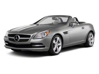 Indium Grey Metallic 2012 Mercedes-Benz SLK-Class Pictures SLK-Class Roadster 2D SLK350 photos front view