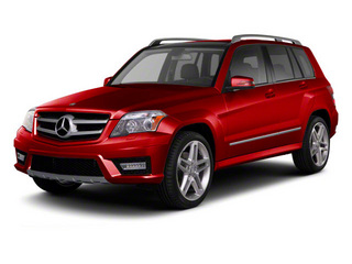 Mars Red 2012 Mercedes-Benz GLK-Class Pictures GLK-Class Utility 4D GLK350 AWD photos front view