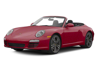 Ruby Red Metallic 2012 Porsche 911 Pictures 911 Cabriolet 2D 4S AWD photos front view