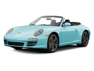 Ipanema Blue Metallic 2012 Porsche 911 Pictures 911 Cabriolet 2D 4S AWD photos front view