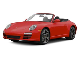 Guards Red 2012 Porsche 911 Pictures 911 Cabriolet 2D 4S AWD photos front view