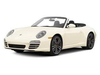 Cream White 2012 Porsche 911 Pictures 911 Cabriolet 2D Turbo AWD photos front view
