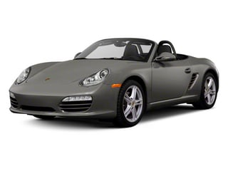 Meteor Grey Metallic 2012 Porsche Boxster Pictures Boxster Roadster 2D photos front view