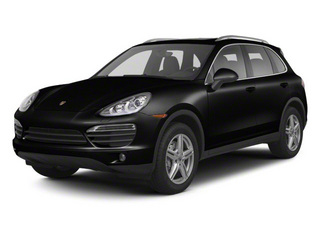 Jet Black Metallic 2012 Porsche Cayenne Pictures Cayenne Utility 4D S AWD (V8) photos front view