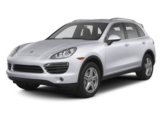 Classic Silver Metallic 2012 Porsche Cayenne Pictures Cayenne Utility 4D Turbo AWD (V8) photos front view
