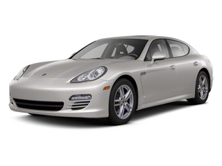 Platinum Silver Metallic 2012 Porsche Panamera Pictures Panamera Hatchback 4D Turbo AWD photos front view