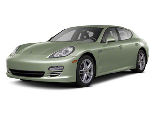 Crystal Green Metallic 2012 Porsche Panamera Pictures Panamera Hatchback 4D Turbo AWD photos front view