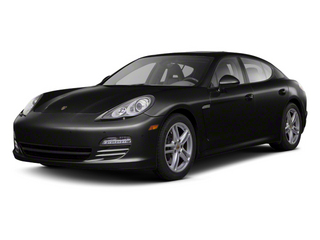 Black 2012 Porsche Panamera Pictures Panamera Hatchback 4D Turbo AWD photos front view