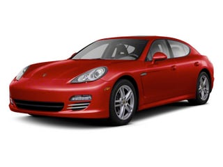 Ruby Red Metallic 2012 Porsche Panamera Pictures Panamera Hatchback 4D Turbo AWD photos front view