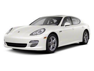 Carrara White 2012 Porsche Panamera Pictures Panamera Hatchback 4D Turbo AWD photos front view