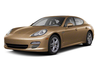 Luxor Beige Metallic 2012 Porsche Panamera Pictures Panamera Hatchback 4D Turbo AWD photos front view