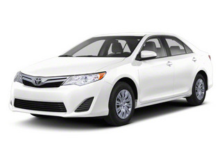 Super White 2012 Toyota Camry Pictures Camry Sedan 4D LE photos front view