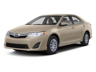 Sandy Beach Metallic 2012 Toyota Camry Pictures Camry Sedan 4D LE photos front view