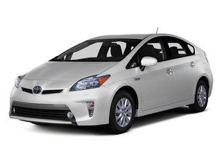 Classic Silver Metallic 2012 Toyota Prius Plug-In Pictures Prius Plug-In Liftback 5D Plug-In Advanced Hybrid photos front view