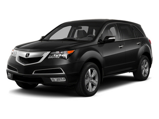Crystal Black Pearl 2013 Acura MDX Pictures MDX Utility 4D AWD V6 photos front view