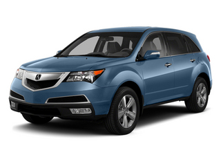 Bali Blue Pearl 2013 Acura MDX Pictures MDX Utility 4D AWD V6 photos front view