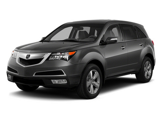 Graphite Luster Metallic 2013 Acura MDX Pictures MDX Utility 4D Technology AWD V6 photos front view