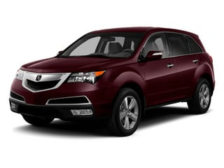 Dark Cherry Pearl 2013 Acura MDX Pictures MDX Utility 4D AWD V6 photos front view
