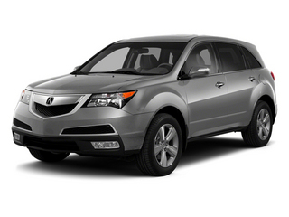 Palladium Metallic 2013 Acura MDX Pictures MDX Utility 4D Technology AWD V6 photos front view