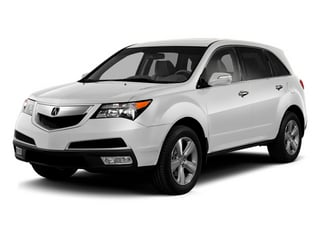 Aspen White Pearl 2013 Acura MDX Pictures MDX Utility 4D AWD V6 photos front view