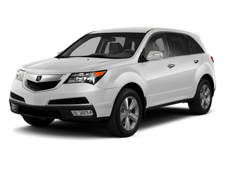 Aspen White Pearl 2013 Acura MDX Pictures MDX Utility 4D Technology DVD AWD V6 photos front view