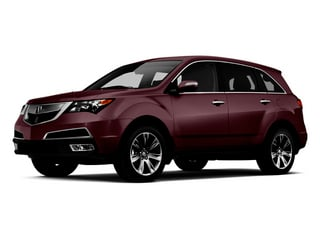 Dark Cherry Pearl 2013 Acura MDX Pictures MDX Utility 4D Advance DVD AWD V6 photos front view