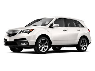 Aspen White Pearl 2013 Acura MDX Pictures MDX Utility 4D Advance DVD AWD V6 photos front view