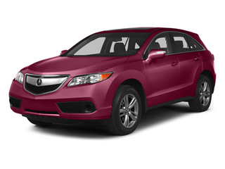 Basque Red Pearl II 2013 Acura RDX Pictures RDX Utility 4D AWD photos front view