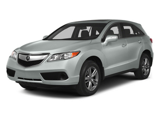Silver Moon 2013 Acura RDX Pictures RDX Utility 4D AWD photos front view