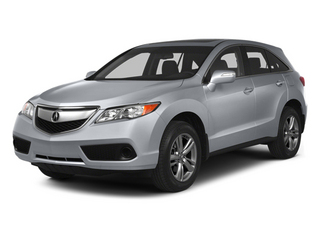 Forged Silver Metallic 2013 Acura RDX Pictures RDX Utility 4D 2WD photos front view