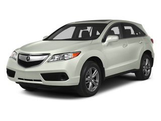 White Diamond Pearl 2013 Acura RDX Pictures RDX Utility 4D AWD photos front view