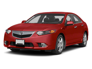 Milano Red 2013 Acura TSX Pictures TSX Sedan 4D I4 photos front view