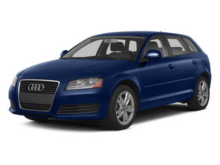 Scuba Blue Metallic 2013 Audi A3 Pictures A3 Hatchback 4D 2.0T Premium photos front view