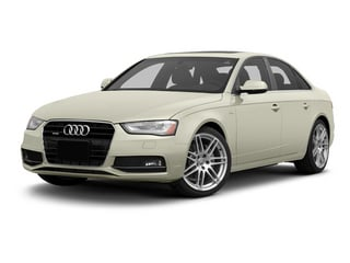 Glacier White Metallic 2013 Audi A4 Pictures A4 Sedan 4D 2.0T Prestige AWD photos front view