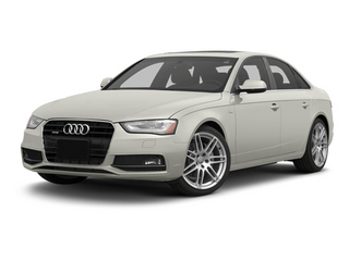 Ibis White 2013 Audi A4 Pictures A4 Sedan 4D 2.0T Prestige AWD photos front view