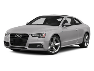 Cuvee Silver Metallic 2013 Audi A5 Pictures A5 Coupe 2D Prestige AWD photos front view