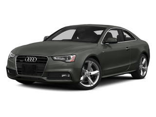 Daytona Gray Pearl 2013 Audi A5 Pictures A5 Coupe 2D Prestige AWD photos front view