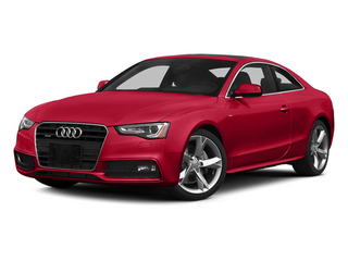 Brilliant Red 2013 Audi A5 Pictures A5 Coupe 2D S-Line AWD photos front view