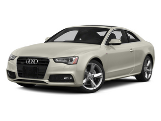 Ice Silver Metallic 2013 Audi A5 Pictures A5 Coupe 2D Premium AWD photos front view