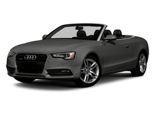 Monsoon Gray Metallic 2013 Audi A5 Pictures A5 Convertible 2D Premium Plus 2WD photos front view