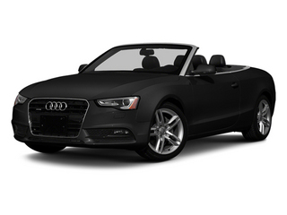 Brilliant Black 2013 Audi A5 Pictures A5 Convertible 2D Premium 2WD photos front view